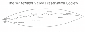 Whitewater Valley Preservation Society logo